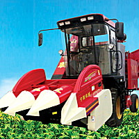 宁联4YZ-3QZY玉米收获机