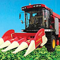 寧聯4YZP-4FLYS玉米收獲機