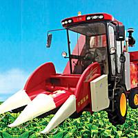 宁联4YZ-2HS玉米收获机