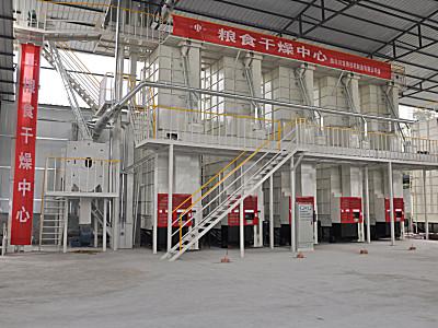 川龙5H-10A-5机组谷物烘干机