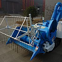 川龙4LZ-1.0型履带式联合收割机
