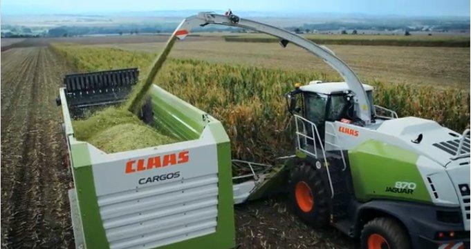 CLAAS(科樂收)JAGUAR830自走式青貯飼料收獲機