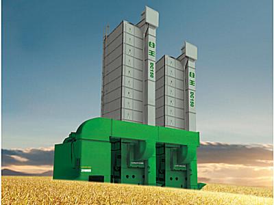 谷王DC150循環式谷物烘干機