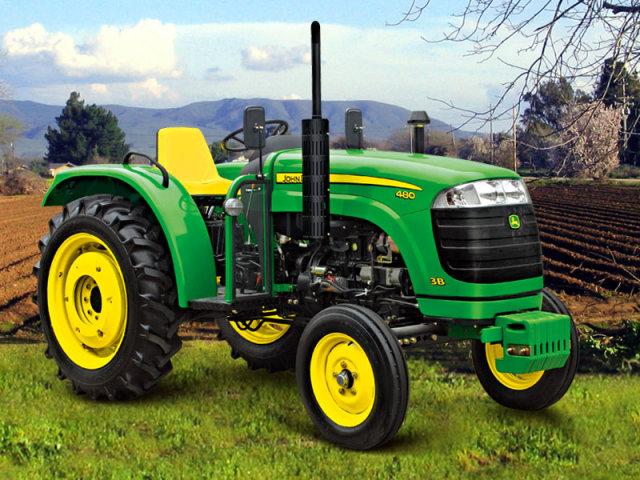 迪尔480两轮驱动拖拉机