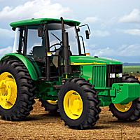 约翰迪尔JD1354四轮驱动拖拉机