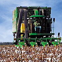 約翰迪爾9970采棉機