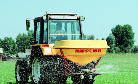格兰PS系列水稻田专用摆杆精量撒肥机