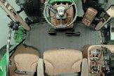 CommandView驾驶室:非常卓越的视野,无比舒适,空间超大。