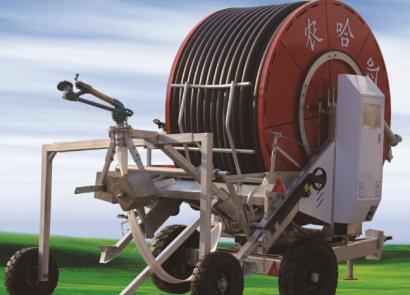 農哈哈JP75-400(智能I型)絞盤式噴灌機