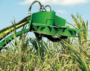 约翰迪尔(John Deere)CH330新型甘蔗收割机高位切梢器