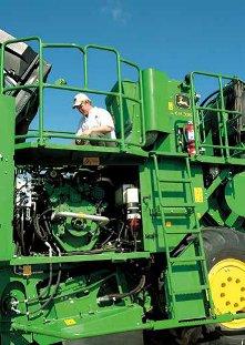 约翰迪尔(John Deere)CH330新型甘蔗收割机提供高质量零部件和便捷的 维修服务