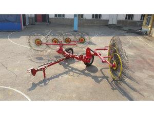 黑龙江倍勒牌4L-6.0A型牵引指轮式搂草机