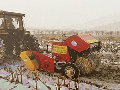 黑龙江倍勒牌4Y-1.8B玉米秸秆打捆机