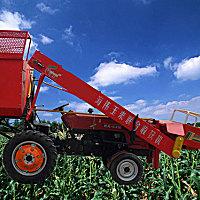 海伟4YW-2玉米联合收割机