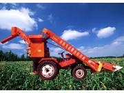 加长槽型玉米收割机
