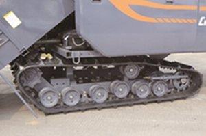 东华4LZ-2.5Z全喂入联合收割机履带