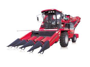 新疆牧神4YZB-4(560)型自走式玉米联合收获机