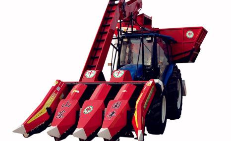 山东国丰4YWP-4型背负式玉米收获机