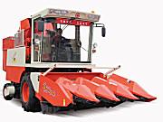 山东国丰4YZP-4D型自走式玉米收获机