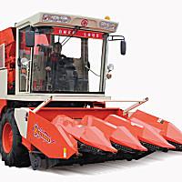 山东国丰4YZP-4D自走式玉米收获机