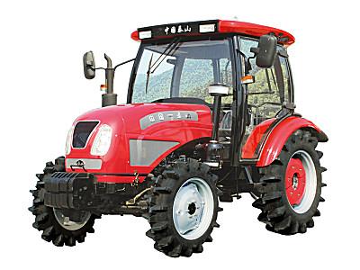泰山750輪式拖拉機