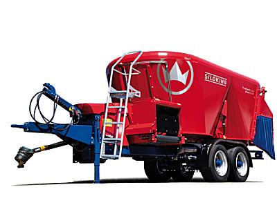 斯诺金1814/2218/3022牵引式双绞龙搅拌车(超豪华型)14m3-30m3