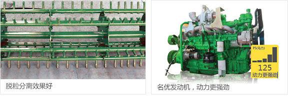 中联谷王TB70(4LZ-7B)型小麦收割机