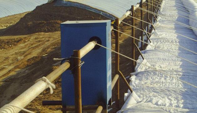 PJ-110型日光溫室卷簾機