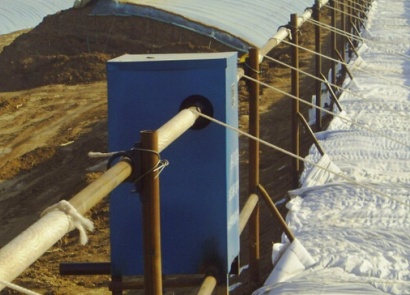 PJ-110型日光温室卷帘机