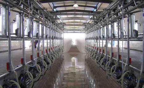 万日9JYG-12-2×8挤奶机