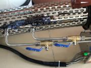 慧博110A新款双管水冷双化油器烟雾机