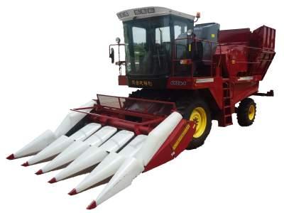 戈梅利4YZQ-5自走式玉米收获机