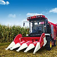 寧聯4YZP-4FLA玉米收獲機
