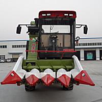 科沃豐4YZ-4B自走式四行玉米收獲機