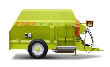 国科诚泰Husky MT50卧式牵引式TMR饲料制备机
