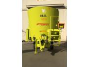 Dunker TVS120立式牵引式单搅龙TMR饲料制备机
