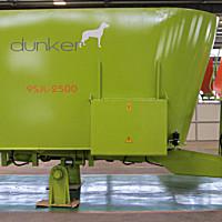 国科诚泰Dunker STW160立式固定式双搅龙TMR饲料制备机