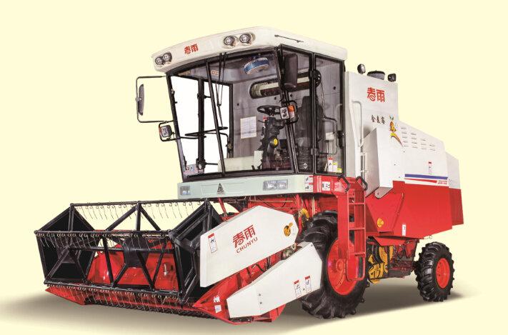 春雨4LZ-5自走式谷物联合收割机