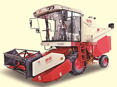 春雨4LZ-6自走式谷物聯合收割機