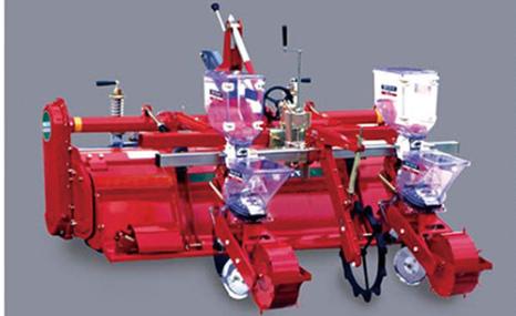 威迪2BZ-6旋耕播種施肥機