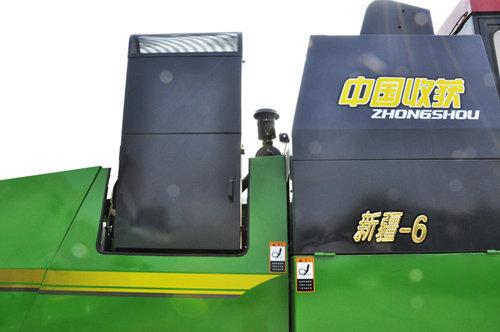 中国收获4LZ-6B1自走轮式谷物联合收割机细节