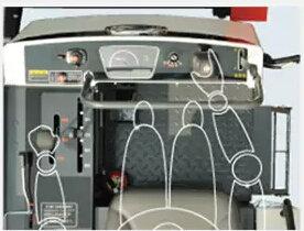久保田4LZ-2.5(PRO688Q)全喂入履帶收割機座椅