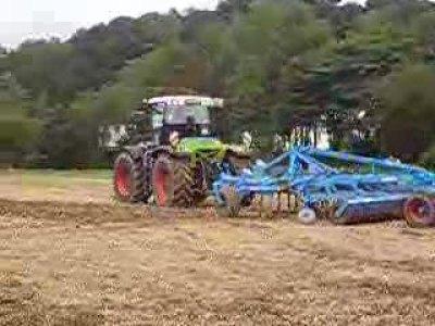 科乐收(CLAAS)拖拉机与雷垦农具联合(上)