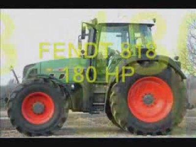 芬特818和930拖拉机介绍