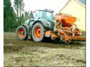 芬特拖拉機和庫恩播種機