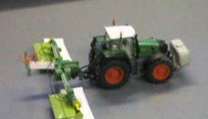 漂亮的芬特拖拉机模型