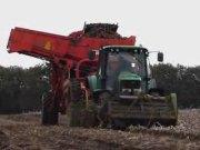 迪尔6420配套格力莫DR1500马铃薯收获机作业视频