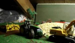 我的農機模型迪爾拖拉機