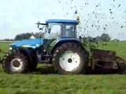 紐荷蘭TM155型拖拉機