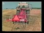 伊诺罗斯搂草翻晒机工作视频